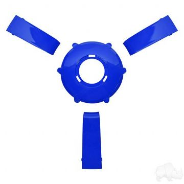 Giazza Steering Wheel Insert Kit, Blue